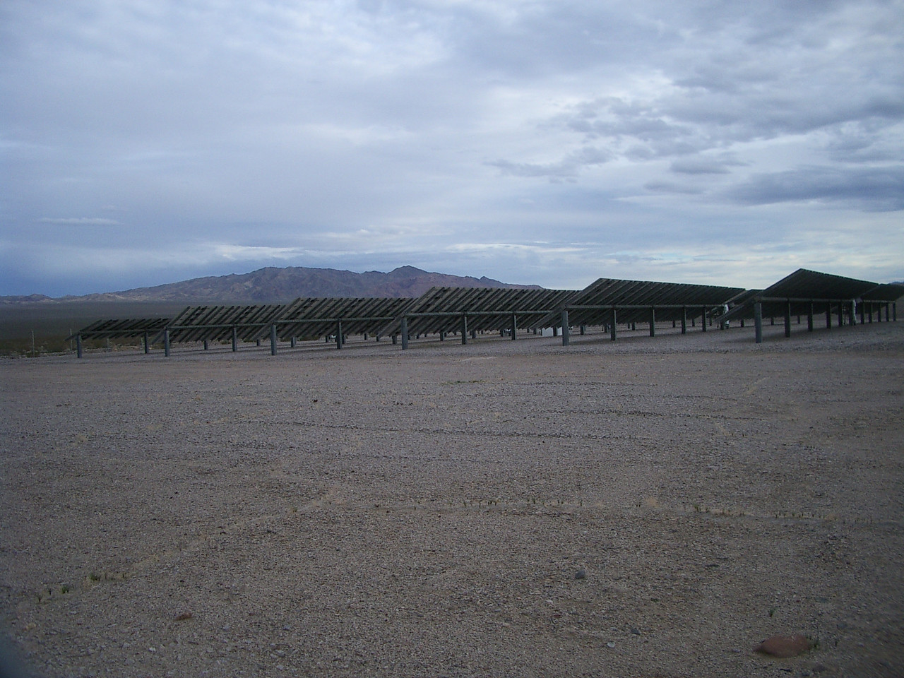 The El Dorado original test arrays by their visitor's centre.