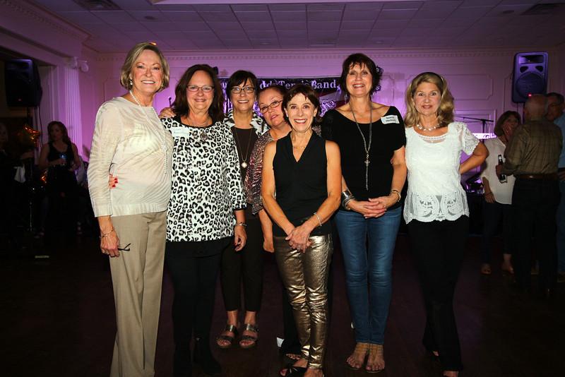 Janie Horton, Linda Armstrong, Patsy Kellly, Patsy Hammonds, Rebo King, Theresa Herlevic, Cindy Liner