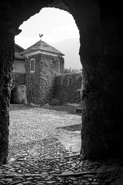 Ossuccio Courtyard