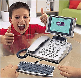 computer phone