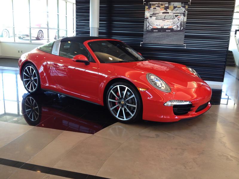 2015 PORSCHE Carrera Targa 4S..Call Britt Brown at Aristocrat Porsche today 913-677-7619