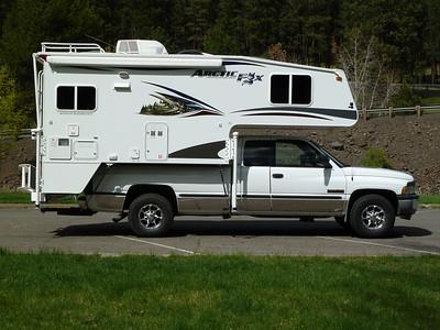 New Artic Fox camper