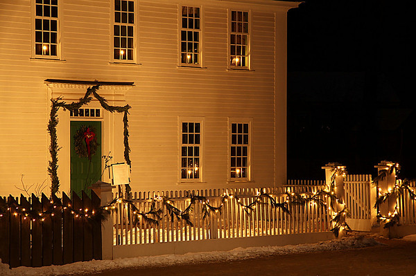 Christmas Lights Ease the Winter Solstice
