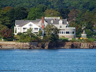 Bar Harbor Maine coastal home