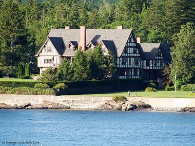 Bar Harbor coastal home