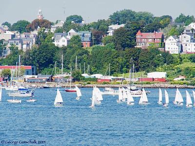 Entering Portland Harbor, Portland Maine