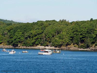 Safe harbor in Bar Harbor Maine