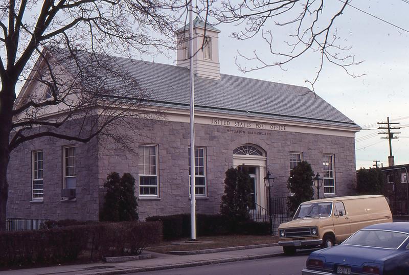 Wollaston Post Office 1980