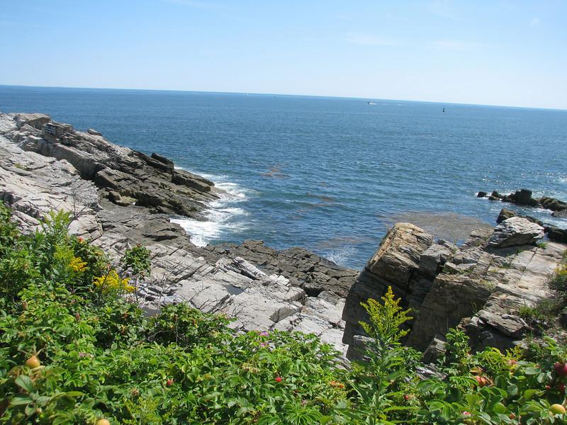 Coastline going into Acadia.