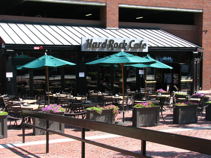 Hard Rock Cafe, Boston.
