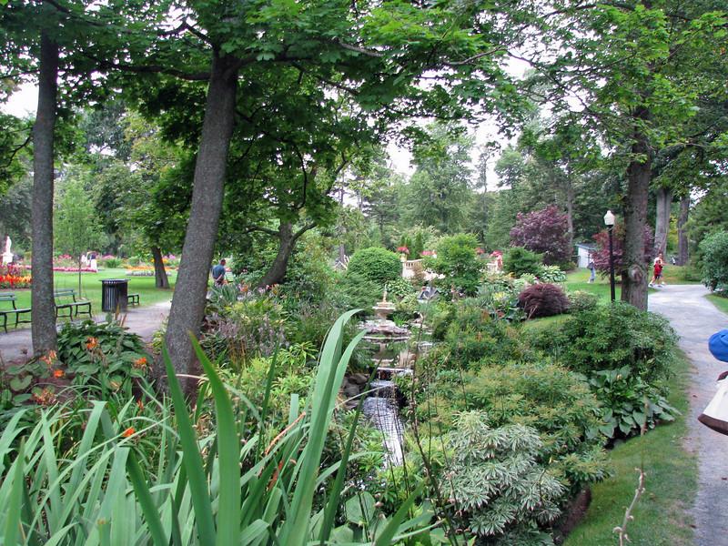 Halifax Public Garden English garden style.