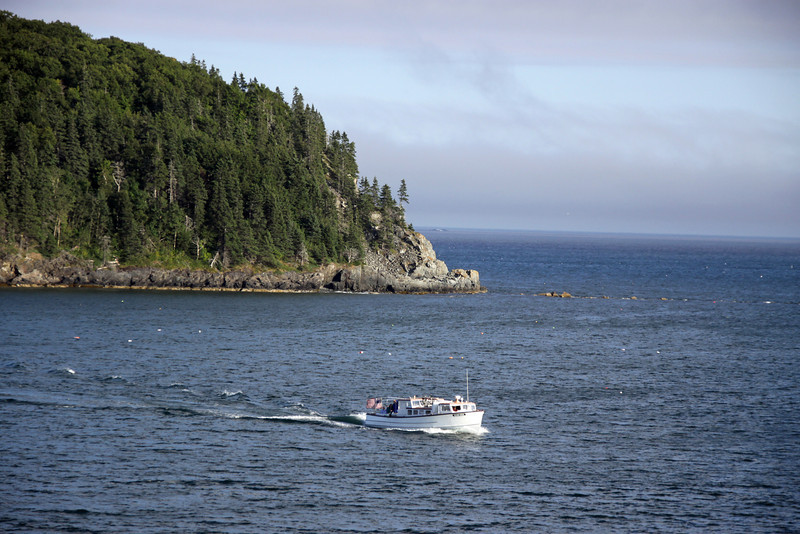 Bar Harbor Maine coastline.