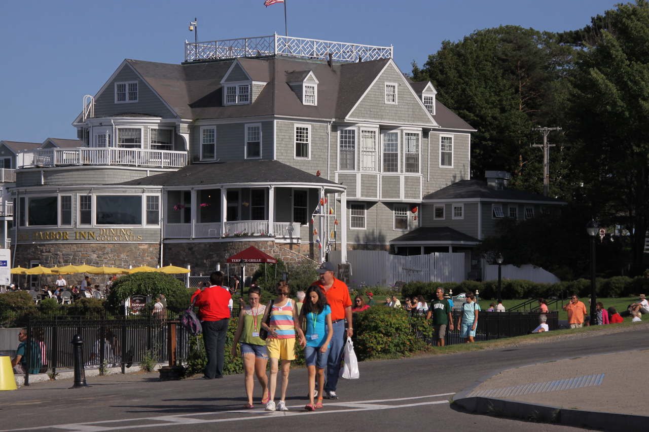 Bar Harbor Inn in Maine.