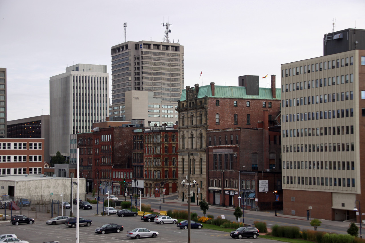 Saint John downtown.