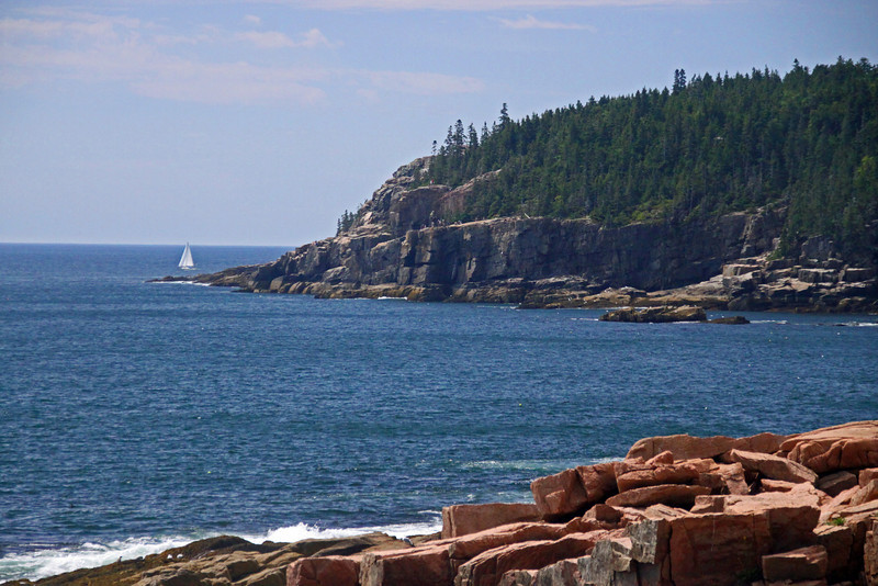 More typical Maine rocky coastline.