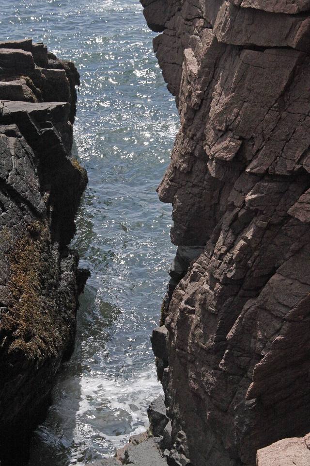 "Acadia National Park ""Thunder Hole""."