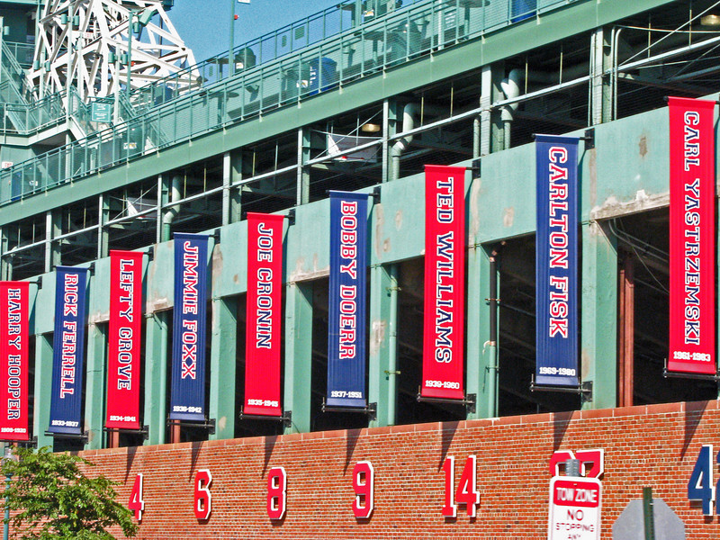 Fenway Park Hall of Famers!  Home to the Redsox faithful.