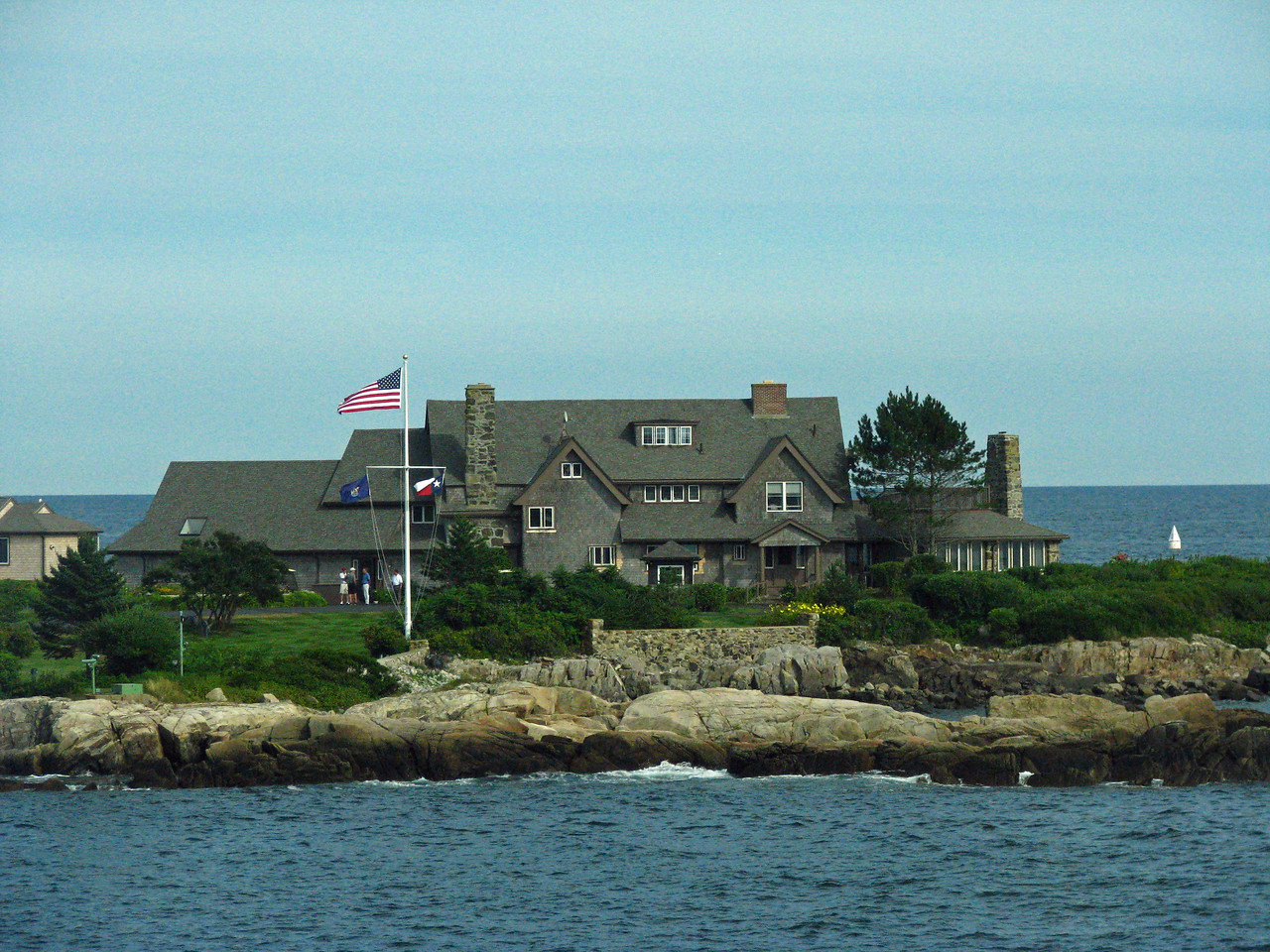 The Bush Summer Home in Kennebunkport.  WOW!
