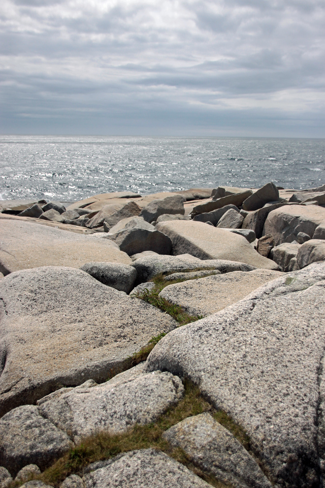 Peggy's Cove Coastline.