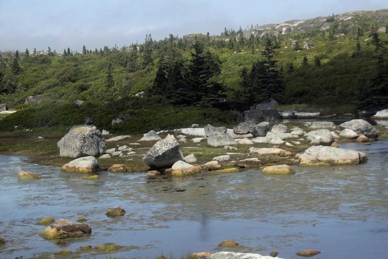 Getting close to Peggy's Cove in Nova Scotia.