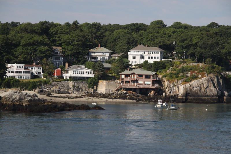 Luxury homes on the Maine Coast