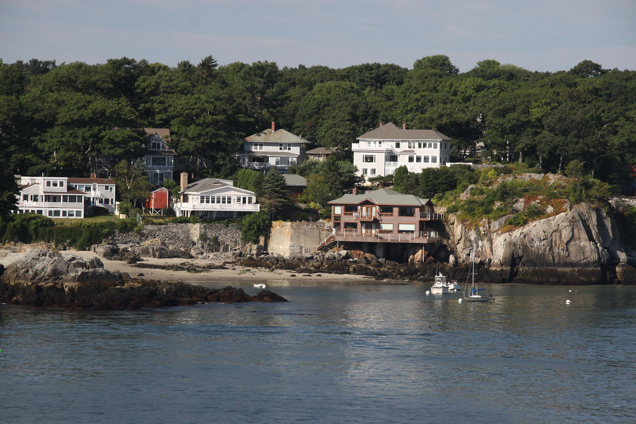 Luxury homes on the Maine Coast