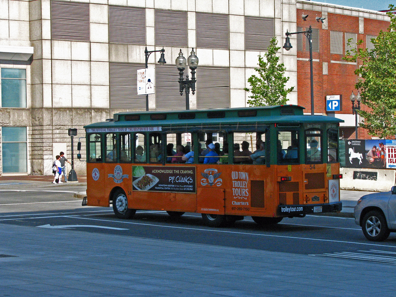 Boston Trolley.