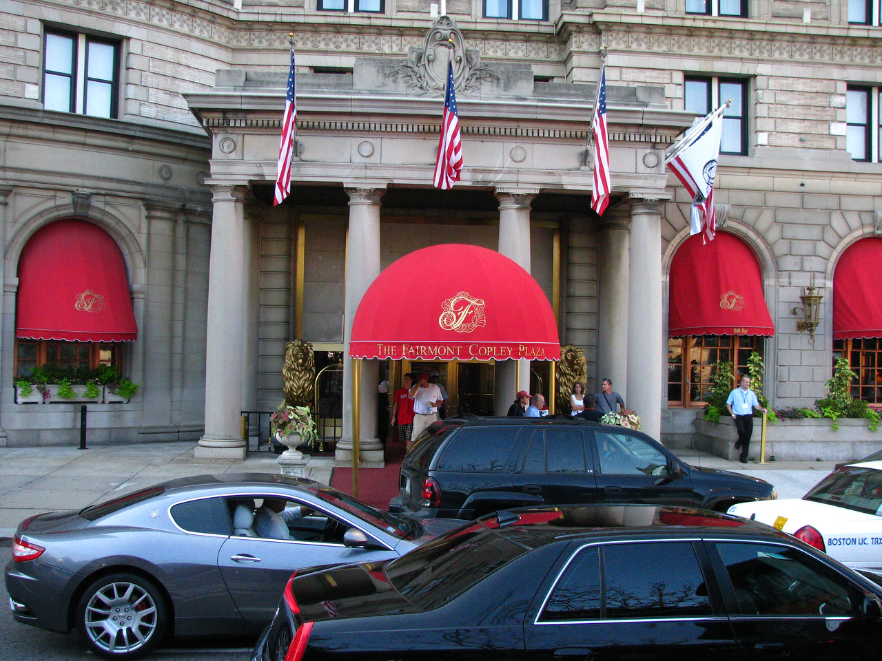 Fairmont Copley Plaza Hotel in Boston.