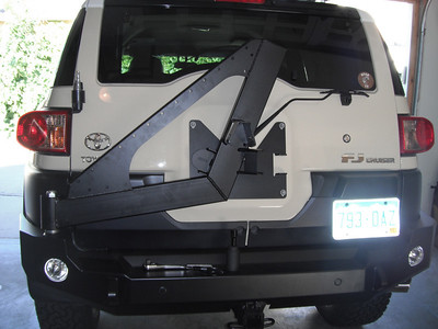 New Expedition One rear bumper install and Ouray summit bumper pics