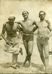 Abe_Sam_Phil at the beach 1939