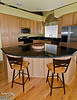 OK, so this is our kitchen after the installation of the granite countertops (by International Stoneworks, Palmer Lake CO).