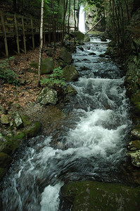 Stream to Falls of Song