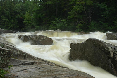 Lower Falls on the Kangamagus Highway