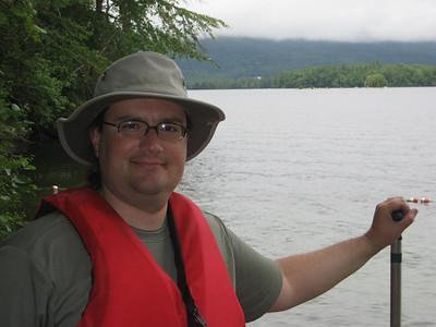 Brian at Squam Lake