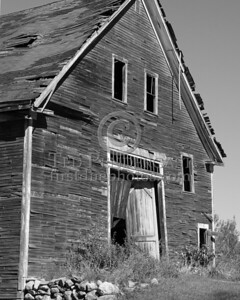 Old Barn 2 - B&W