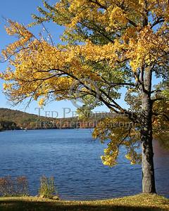 Harrisville Pond From Main St - Harrisville,NH