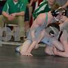 2014 New Hampton District<br /> 152<br /> 1st Place Match - Douglas Perrin (Osage) 26-7 won by decision over Zach Milks (Charles City) 29-5 (Dec 4-3)