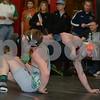 2014 New Hampton District<br /> 152<br /> 1st Place Match - Douglas Perrin (Osage) 26-7 won by decision over Zach Milks (Charles City) 29-5 (Dec 4-3)