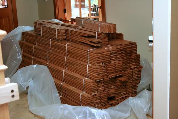 New Hardwood Floors - September 2008