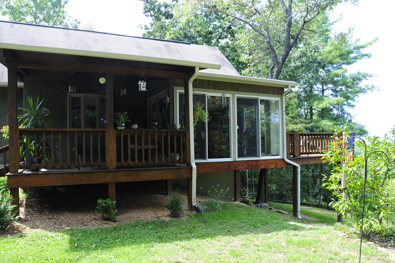 Profile of the Front Porch and the Breakfast Nook
