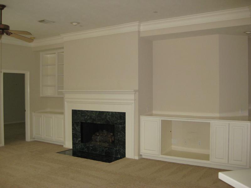 Living area from back door