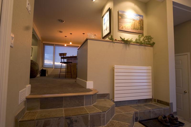 12/26/05 - Entry stairway enclosure