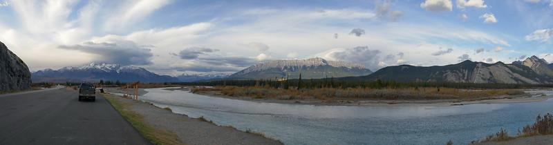 Athabaska River near Jasper AB