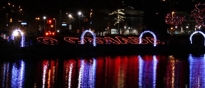 Lafarge Lake Lights 2017, Coquitlam BC