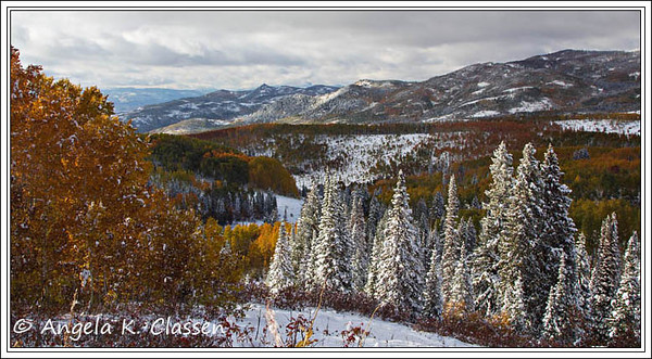 Rainbow Ridge from Buffalo Pass Road near Steamboat Springs, Colorado