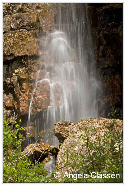 A waterfall near Molass Pass, Colorado