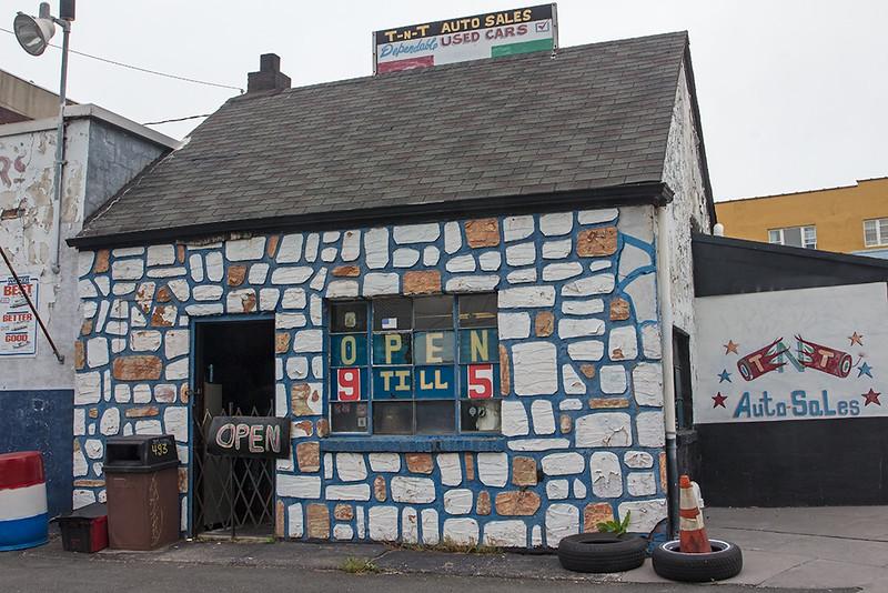 Used car dealer, Jersey City<br /> ©2015 Peter Aldrich