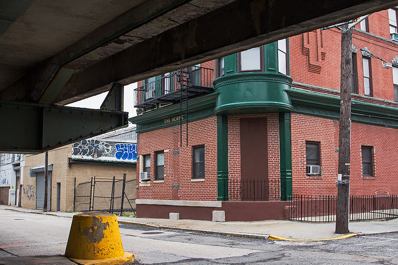Street Scene, Weehawken, NJ<br /> ©2017 Peter Aldrich
