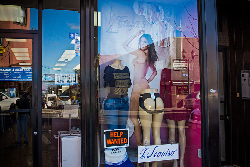 Union City shop window<br /> ©2017 Peter Aldrich