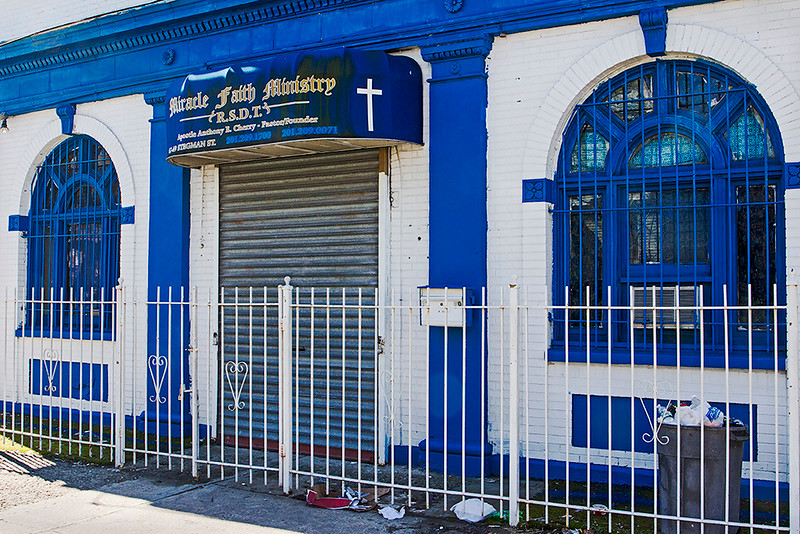 Miracle Faith Ministry, Jersey City<br /> ©2017 Peter Aldrich